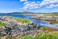 Toormore Bay shoreline, County Cork, Ireland Stock Photography