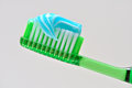 Tooth Brush and tooth paste Royalty Free Stock Photography