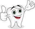 Tooth cartoon character Royalty Free Stock Photography