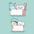 Tooth with dentist