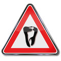Tooth and dentist Royalty Free Stock Photo