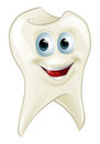 Tooth man an illustration of a cartoon character mascot Royalty Free Stock Image