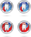 Tooth protect vector illustration of the Royalty Free Stock Image