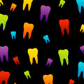 Tooth wallpaper for dentist colorful web Royalty Free Stock Photography