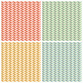 Title: Toothed Zig Zag Paper Patterns Backgrounds Set