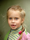 The toothless child Royalty Free Stock Photo