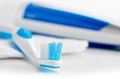 Toothpaste see my other works in portfolio Royalty Free Stock Photography