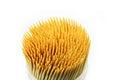 Toothpick isolated on white background Stock Photo