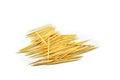Toothpick isolated on white background Stock Image
