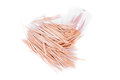 Toothpick isolated on white background Royalty Free Stock Photo