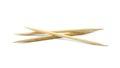Toothpicks isolated on white background Royalty Free Stock Image