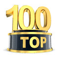 Top 100 award Stock Image