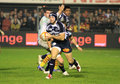 Top 14 rugby match USAP vs Castres Royalty Free Stock Photography