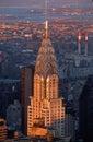 Top of Chrysler Building, NY, NY Royalty Free Stock Photo