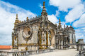 Top of dom joao iii cloister renaissance masterpiece in the templar convent christ in tomar portugal unesco world heritage Royalty Free Stock Photo