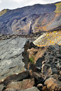 Top of Etna, volcano in Sicily Royalty Free Stock Photos