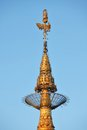 Top of Golden Rock (Kyaiktiyo) pagoda, Myanmar Royalty Free Stock Photography