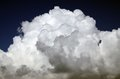 The top of a large cumulus cloud (c&s) Royalty Free Stock Photo