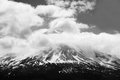 Top of Mount Shasta Royalty Free Stock Photo