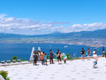 Top of Mt.Hakodate Royalty Free Stock Photo