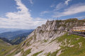 Top of the mt pilatus switzerland Royalty Free Stock Photography