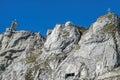 Top of the mt pilatus in switzerland Stock Photos