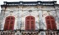 Top of old building in Hoi An, Vietnam