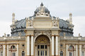Top part opera house odessa ukraine Royalty Free Stock Images