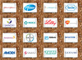 Top pharmaceutical companies logos and brands