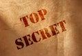 Top secret Royalty Free Stock Photo
