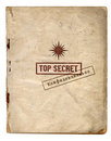 Top Secret Files / Confidential Stock Image