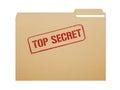 Top Secret Folder Royalty Free Stock Photo