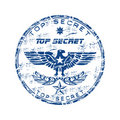 Top secret rubber stamp Stock Images