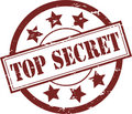 Top Secret Rubber Stamp (Vector) Royalty Free Stock Photos