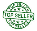 Top Seller Stamp Shows Best Services Or Products Royalty Free Stock Photo