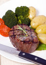 Top Sirloin Steak Royalty Free Stock Image