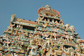 Top of the Sri Ranganathaswamy Temple (Srirangam) Stock Photography
