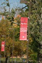 Top tier miami university formerly western college for women campaign sign the also known as a public ivy Stock Photos