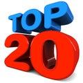 Top twenty Royalty Free Stock Photo