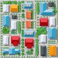 Top view from above Royalty Free Stock Photo