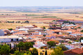Top view of belmonte cuenca Royalty Free Stock Images