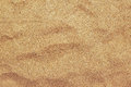 Top view of brown beach sand texture, summer holiday background Royalty Free Stock Photo
