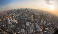 Top view city, Bangkok , Thailand Stock Images
