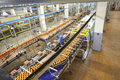 Top view of conveyor with beer in ochakovo moscow may factory on may moscow russia has breweries several russian Stock Images