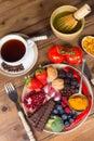 Antioxidants for dinner Royalty Free Stock Photo