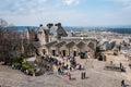 Top view from edinburgh castle scotland uk Stock Photography