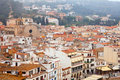 Top view of European town Royalty Free Stock Photography