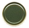 Top View of a Jar Lid Royalty Free Stock Photo