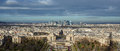 Top view of Paris, France Royalty Free Stock Photo
