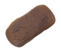 Top view of pumpernickel bread loaf Royalty Free Stock Photo